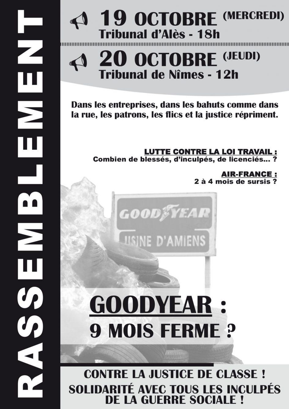Affiche Goodyear